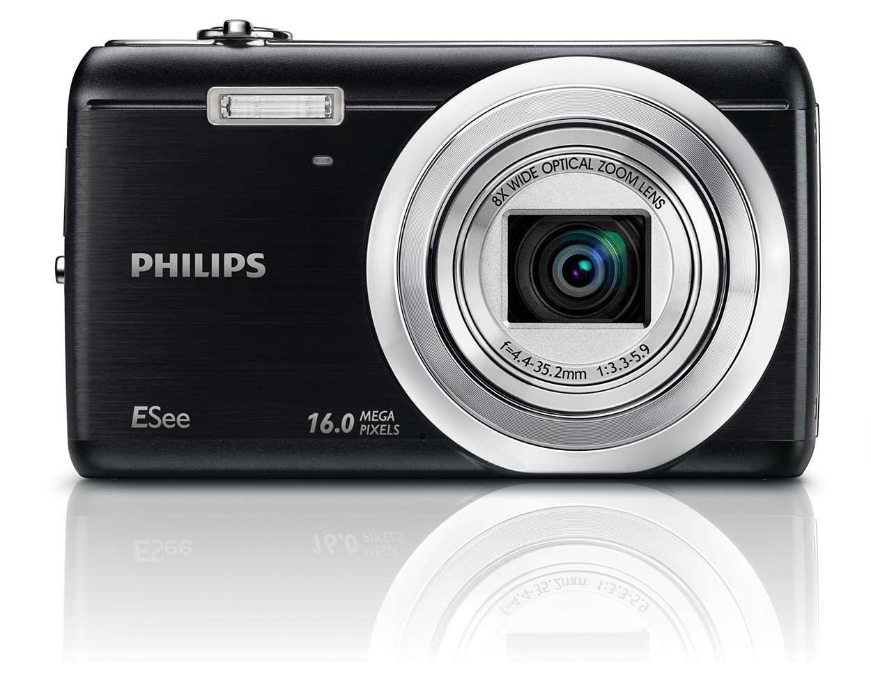 Ремонт цифровых фотоаппаратов Philips